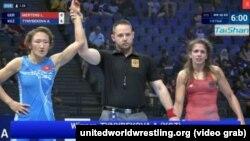 Айсулуу Тыныбекова дүйнө чемпиондугунда