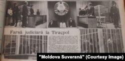 Moldova Suverană, 24 aprilie 1993, procesul grupului Ilașcu