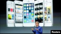 Презентація нової продукції Apple, Купертіно, Каліфорнія, 10 вересня 2013 року
