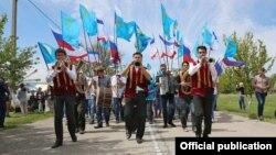 «Святкування» Хидирлезу в окупованому Росією Криму. 3 травня 2016 року