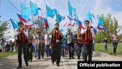 Празднование Хыдырлеза в Крыму, 3 мая 2016 года