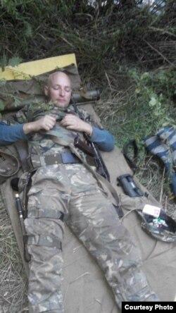 Олександр Кучма у зоні АТО