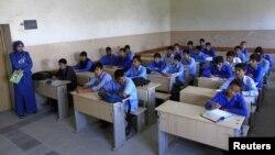 Кабул қаласындағы орта мектеп. Ауғанстан, 5 маусым 2012 жыл. (Көрнекі сурет)