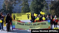 Parada ponosa u Beogradu, oktobar 2010