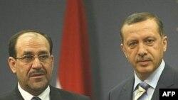 إردوغان يستقبل المالكي في أنقرة 7/8/2007