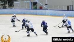 Ўзбек хоккейчилари. Миллий олимпия қўмитаси сайтидан олинган сурат.