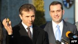 Бидзина Иванишвили и Ираклий Аласания