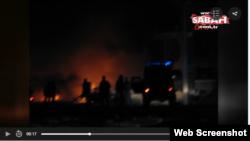 Місце вибуху у провінції Шанліурфа, Туреччина, 17 лютого 2017 року