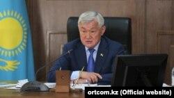 Қазақстан премьер-министрінің орынбасары Бердібек Сапарбаев.