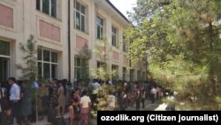 Қарши давлат университетидаги қабул жараёни.