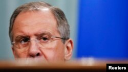 The new decree brings the number of Russian deputy foreign ministers reporting to Foreign Minister Sergei Lavrov (pictured) to nine.