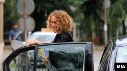 Министерката за одбрана Радмила Шекеринска