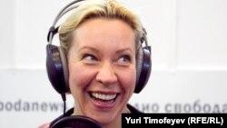 Татьяна Лазарева в студии Радио Свобода