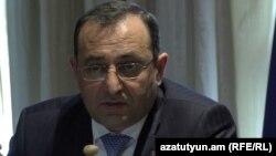 Էկոնոմիկայի նախարար Արծվիկ Մինասյանը: