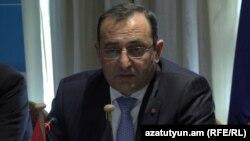 Министр экономики Армении Арцвик Минасян (архив)