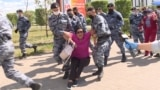 More Than 100 Detained As Kazakh Police Disperse, Block Opposition Protests GRAB 2