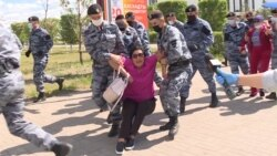 More Than 100 Detained As Kazakh Police Disperse, Block Opposition Protests