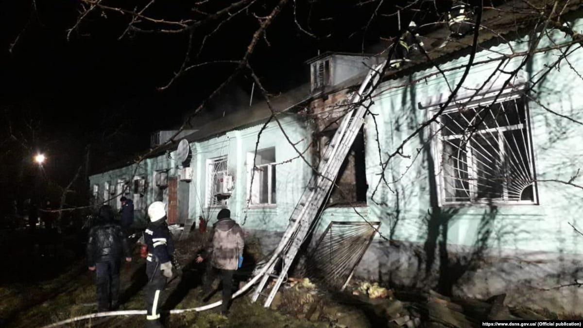На Луганщине объявлен траур в связи с гибелью 4 пациентов психоневрологического интерната