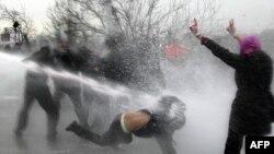 Protesta në Ankara të Turqisë