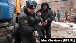 Козихинский переулок: задержание активистов