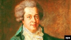 Mozart-ın portreti