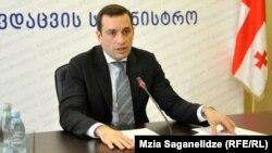 Грузия Мудофаа вазири Иракли Аласания.