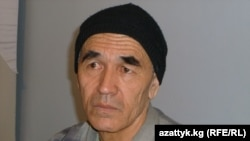 Azimjan Askarov in prison in March
