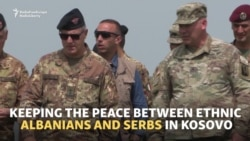 Kosovar, Serbian-American Officers Team Up In Kosovo