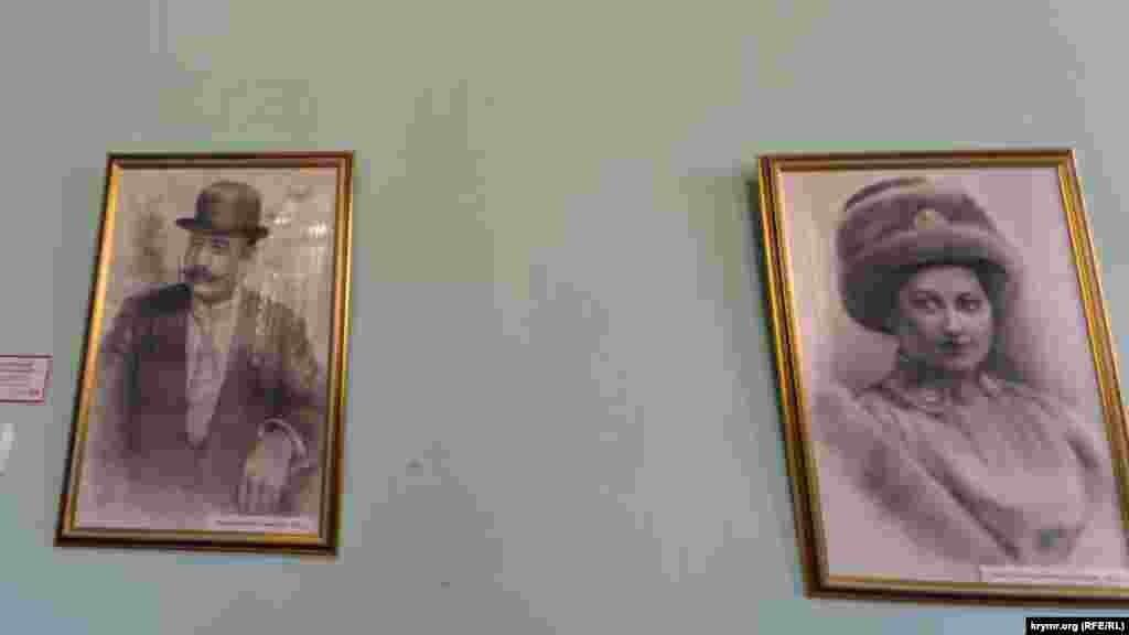 Фото господаря дачі Йосипа Стамболі та його дружини Рахіль. Уже після революції, в еміграції у Франції, Йосип і Рахіль розлучилися назавжди