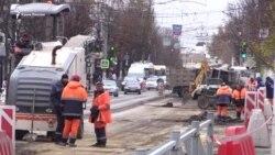 Испытание ремонтом. В Симферополе продолжается реконструкция дорог (видео)
