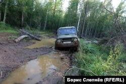На маршруте Юхта – Шевыкан летом