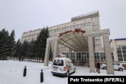 Гостиница «Кызылжар». Петропавловск, 19 декабря 2020 года.