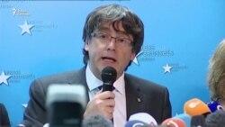 Пучдемон дал пресс-конференцию в Брюсселе