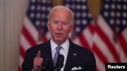 ԱՄՆ նախագահ Ջո Բայդենի ուղերձն Աֆղանստանում ստեղծված իրավիճակի մասին, Սպիտակ տուն, Վաշինգտոն, 16-ը օգոստոսի, 2021թ.