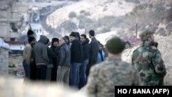 Foto arkivi nga Siria.