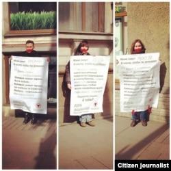 День молчания в Петербурге