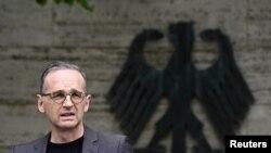 Глава МИД Германии Хайко Маас. Берлин, 28 мая 2021 года