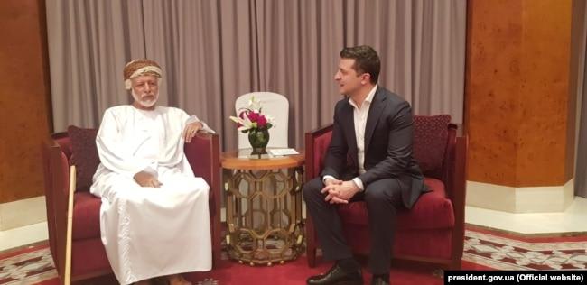 Інша – з міністром, відповідальним за закордонні справи Султанату Оман