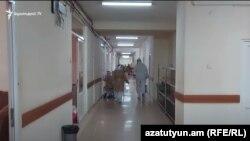 Երևանյան հիվանդանոցներից մեկում, հունիս, 2020թ.