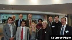شرکتکنندگان در کنفرانس بروکسل