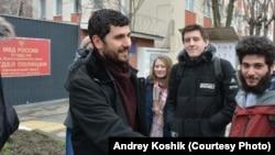 Давид Канкия после окончания первого ареста