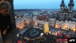 Так выглядит Прага в Рождество