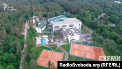 «Міжнародна тенісна академія» з висоти пташиного польоту