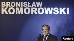 برونيسلاو كوموروفسكى، نامزد پیروز انتخابات ریاست جمهوری در لهستان