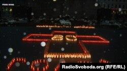 "Latwia, ukrainalylar we latwialylar ""Holodomor"" pidalaryny hatyralaýar. Riga, 23-nji noýabr, 2013."