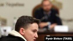Deputat Nadia Savchenko parlamentdə, 22 mart, 2018-ci il