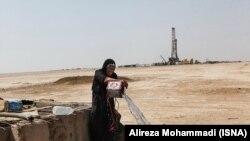 روستایی در غیزانیه خوزستان، مرداد ۱۳۹۷