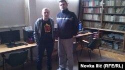 Milan Matijević i Miljan Ćetković