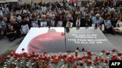 Pamje nga një përkujtim në Stamboll të vrasjeve të armenëve në vitin 1915