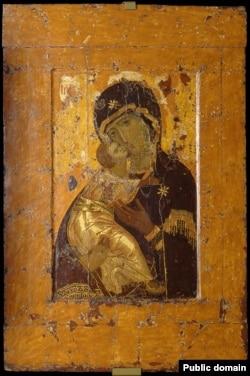 Вишгородська ікона Божої Матері, яка нині перебуває на території Росії
